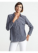 Classic Collar Shirt in Breezy Chambray