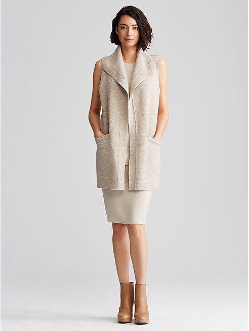 Icon Boiled Wool Vest