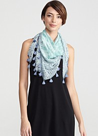 Colorfield Shibori Silk Georgette