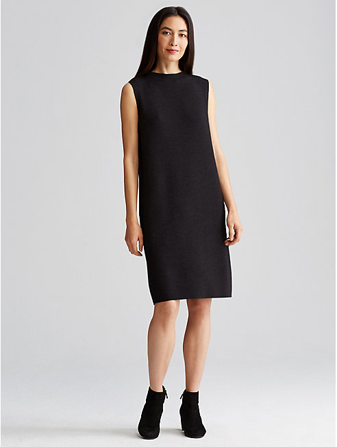 Icon Washable Wool Crepe Dress