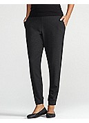 Slouchy Tapered Pant in Cozy Viscose Stretch