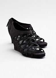 Cage Wedge Sandal