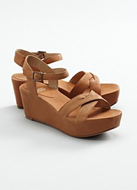 Match Wedge Sandal