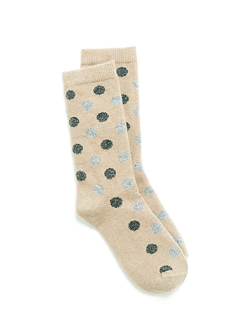 Two Color Dot Sock