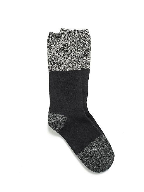 Cozy Color-Blocked Sock
