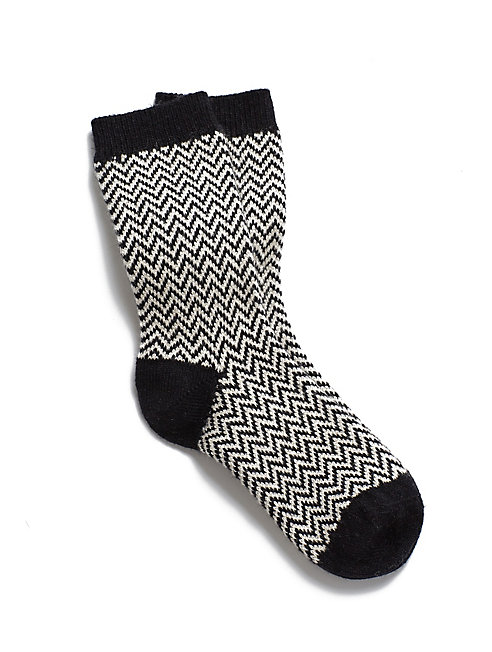 Cozy Herringbone Sock