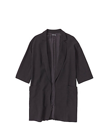 Shawl Collar Linen Jacket 258 00