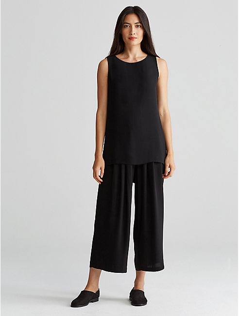 Icon Silk Wide-Leg Pant