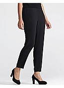 Tapered Pant in Silk Georgette Crepe