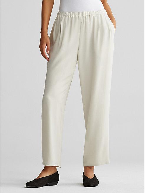 Bluesign® Certified Silk Straight Pant