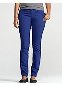 Petite Skinny Jean in Garment-Dyed Organic Cotton Stretch Twill