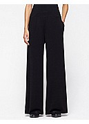 Wide-Leg Pant in Stretch Silk Jersey