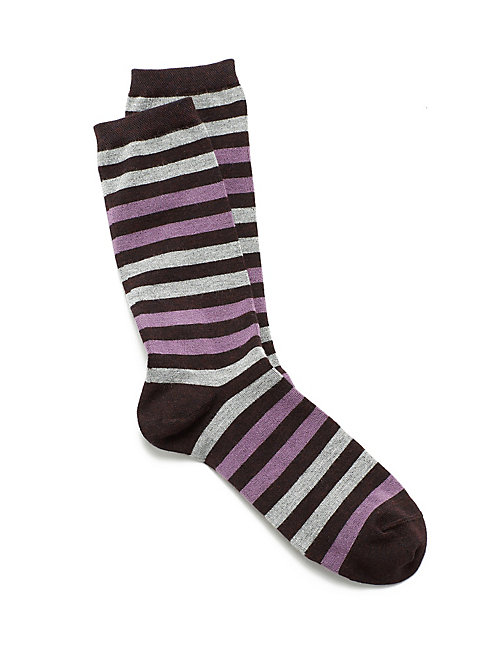 Cozy Viscose Stripe Sock