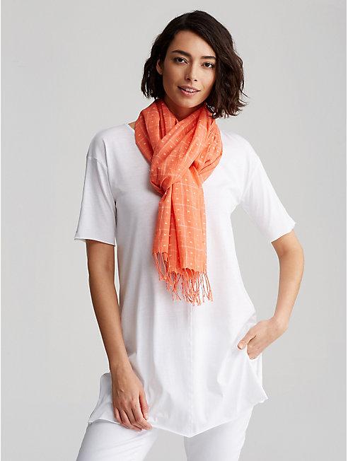 Handloomed Organic Cotton Scarf