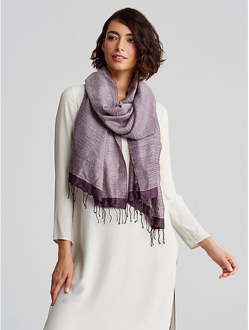 Handloomed Silk Wool Scarf