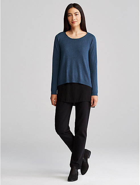 Merino Tencel Organic Cotton Top