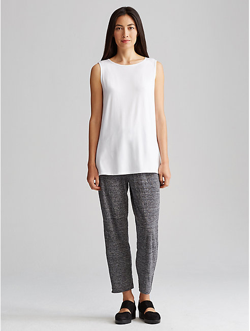 Organic Linen Jersey Slouchy Pant