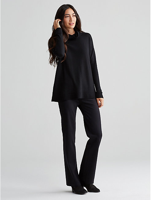 Doubleknit Boot-Cut Pant