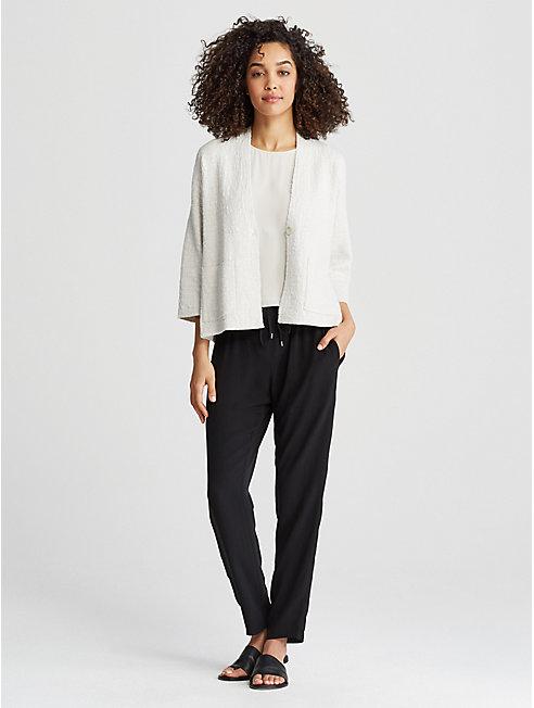 Organic Linen Cotton Kimono Jacket