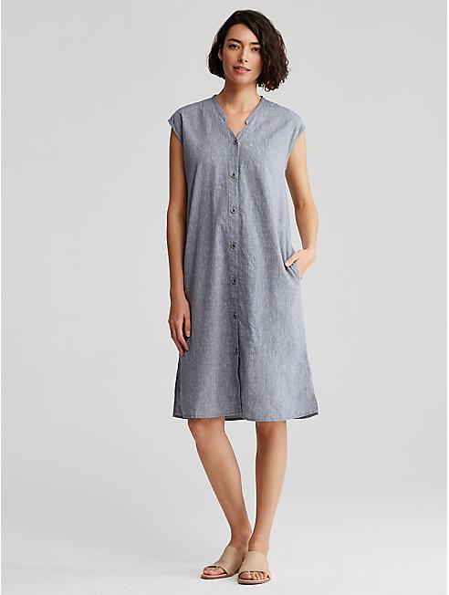 Linen and Organic Cotton Dress