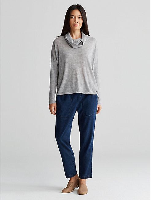 Tencel Organic Cotton Slouchy Pant