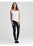 Skinny Jean in Organic Soft Stretch Denim