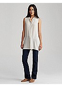 Petite Straight-Leg Jean in Organic Soft Stretch Denim