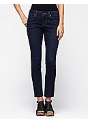 Petite Skinny Ankle Jean in Organic Soft Stretch Denim