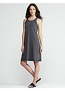 Scoop Neck Racer-Back Dress in Organic Cotton Stretch Jersey