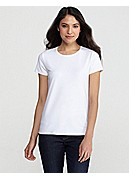 Short-Sleeve Tee in Organic Cotton Stretch Jersey