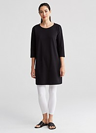 Lightweight Organic Cotton Stretch Jersey