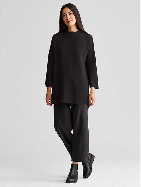 Silk and Organic Cotton Tunic
