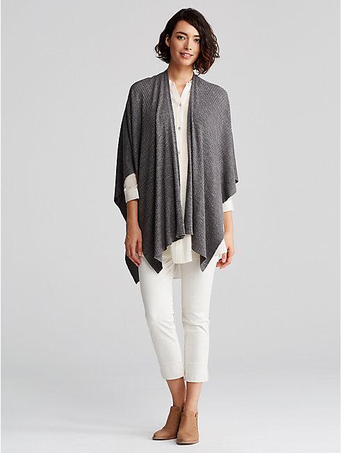 Speckle Wool Linen Serape
