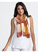 Scarf in Silk Shibori Road