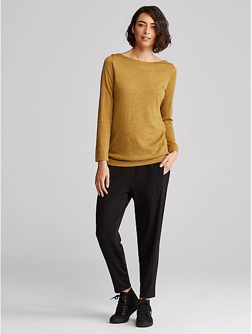Tencel Fleece Slouchy Pant