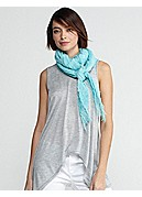 Square Scarf in Tinted Gauze