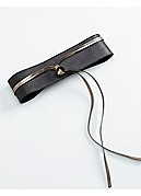 Obi Belt in Italian Leather