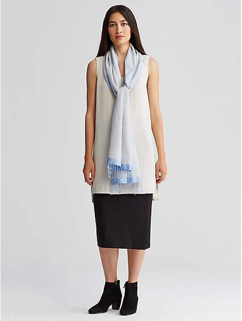 Viscose Jersey Straight Skirt