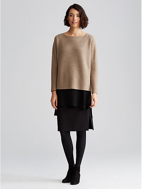 Undyed Cashmere Links Box-Top