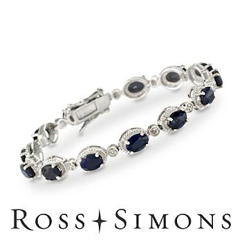 Sapphire bracelet sales in may 2004 bracelet for sale for Ross simons jewelry store