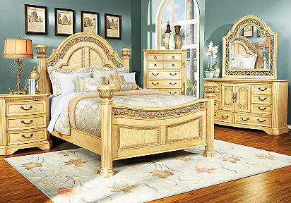 Beckford Ash 5 Pc Queen Bedroom | Bedroom ses | Rooms o Go Furniure