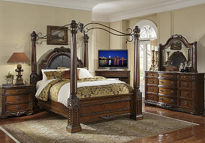 ashley furniture ashley martini suite canopy queen size bedroom set