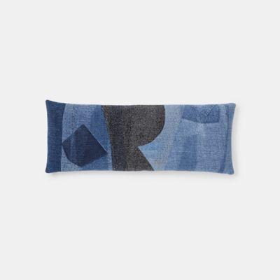EILEEN FISHER x West Elm Felted Denim Pillow Cover, 14
