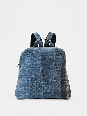 Waste No More Small Denim Backpack