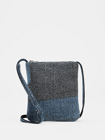 Waste No More Denim Crossbody Bag