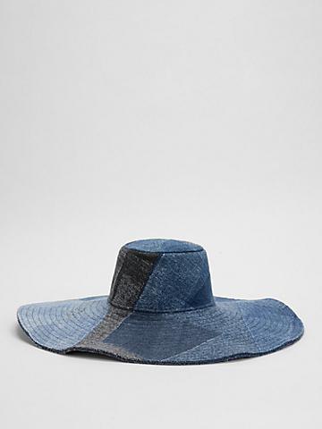 Waste No More Denim Wide Brim Hat