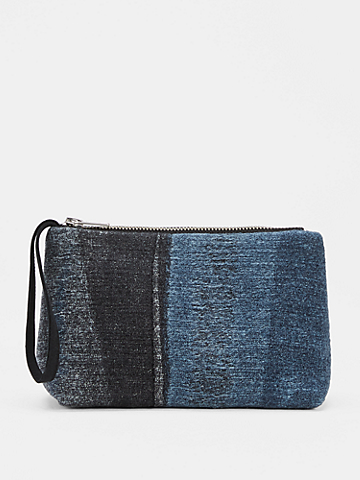 Waste No More Small Denim Pouch
