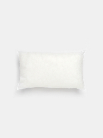 "EILEEN FISHER x West Elm Recycled Polyester Pillow Insert, 12 1/2"" by 21 1/2"""