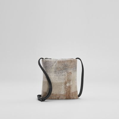 Waste No More Felted Crossbody Bag