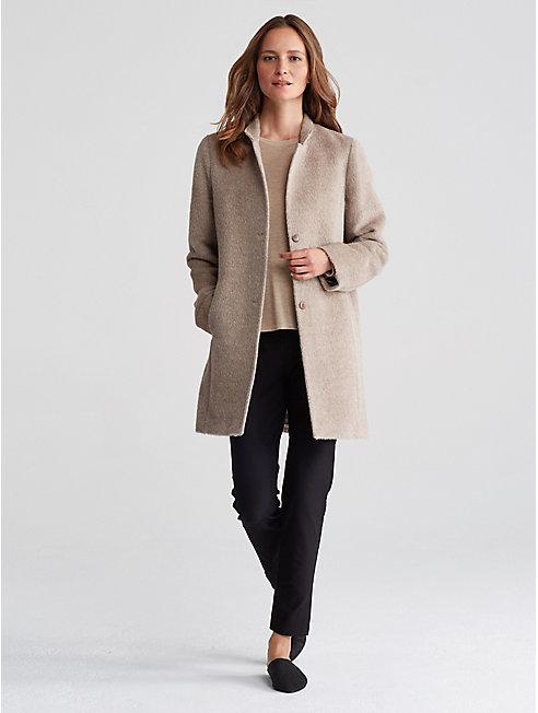 Alpaca Notch Collar Coat